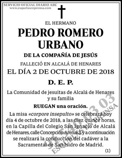 Pedro Romero Urbano